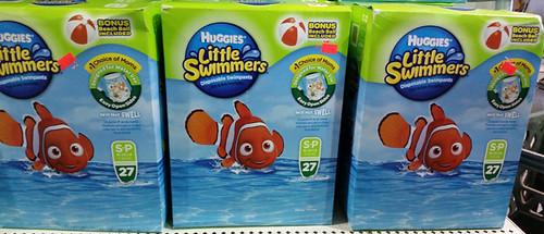 Huggies LIttle Swimmers $7 each