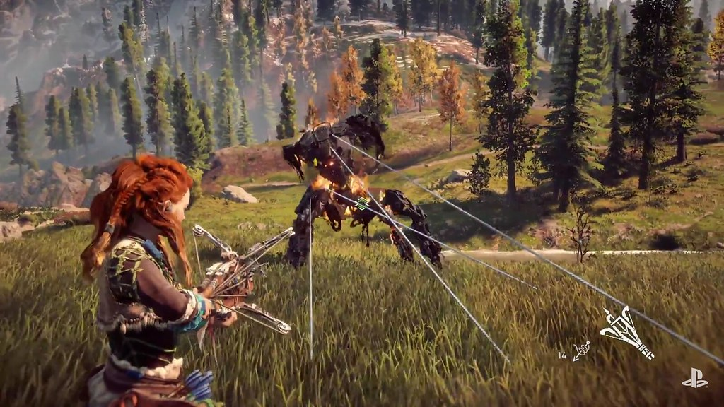 E3 2016: Horizon: Zero Dawn Gameplay Debuts
