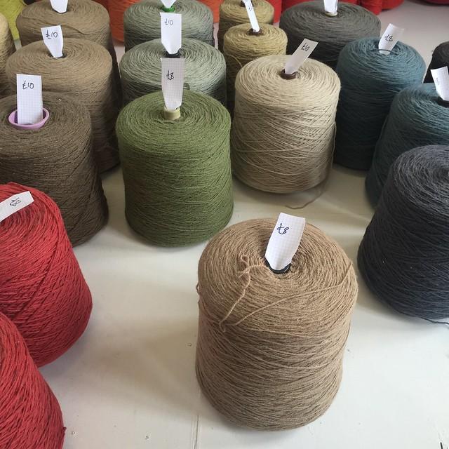 Portland works wool