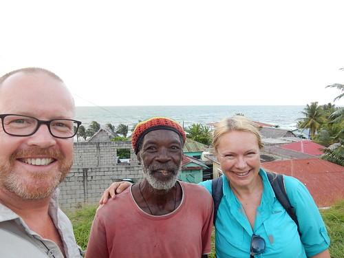 Lvingston - met Garifuna Philip