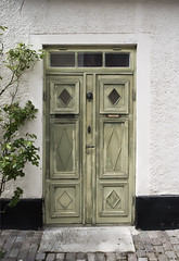 A door with a history