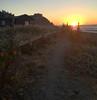 Saturday sunset, Linda Mar beach