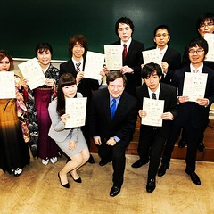 Graduation day for my seminar students