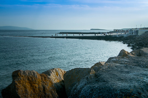 summer sea atlanticocean seascape cogalway salthill ireland