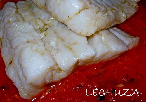 Bacalao salsa picante-detalle