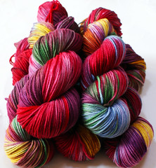 """Holland""  BFL Aran  Presale 100 grams"