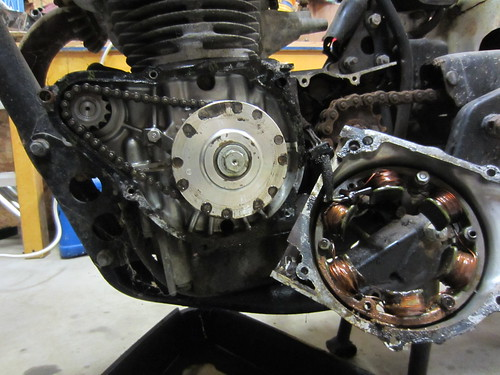 CB450 K7 seized engine question