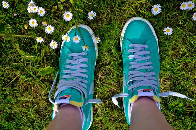 Flower Nike Shoes Buy