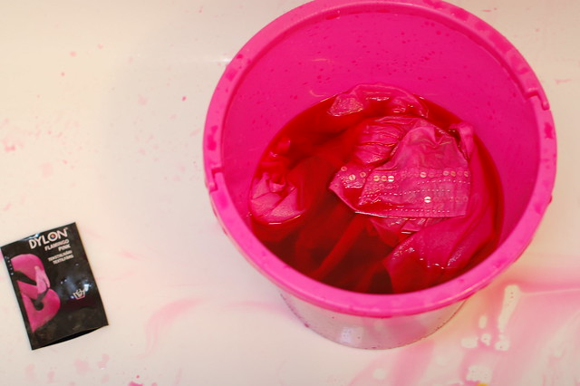 Flamenco pink Dye