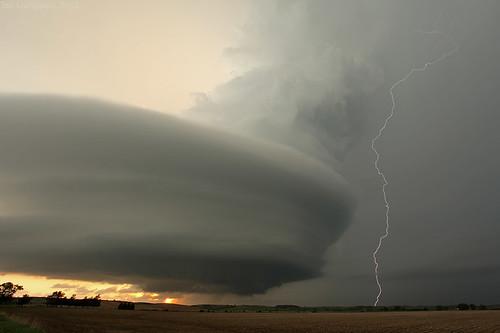 Tall lightning