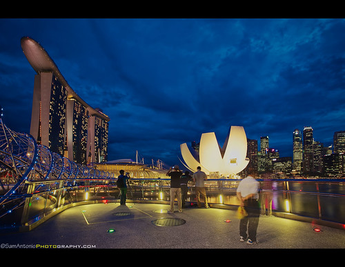 I flew over 20 hours from California to Singapore to see the world's largest surfboard?! by Sam Antonio Photography