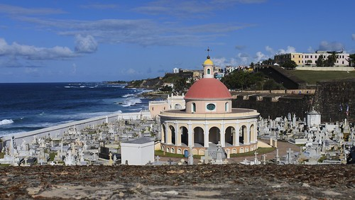 world ocean santa old sea heritage cemetery de landscape puerto site san day juan cloudy maria tourist historic atlantic unesco rico seeing tropical destination caribbean sight tropics magdalena pazzis