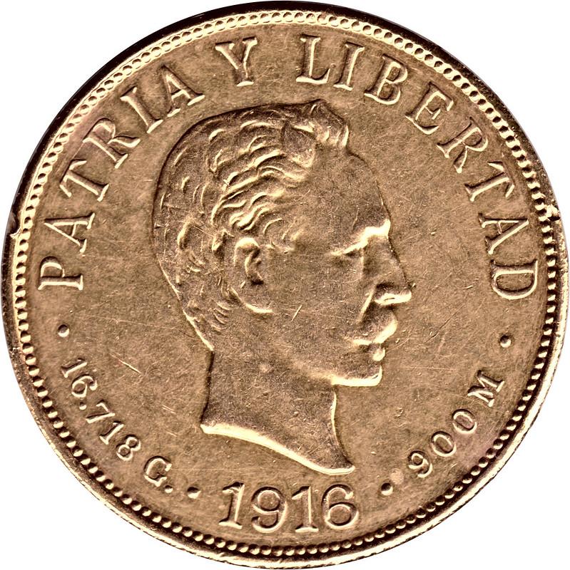 10 Pesos (José Martí). Cuba. 1916. Philadelphia 9033678770_e563e472df_c