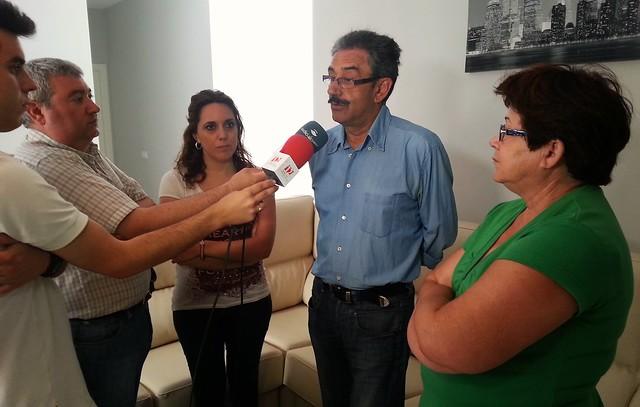 Visita Manuel Baena a AVAIN