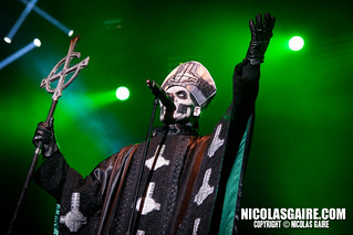 Ghost @ Hellfest , Clisson | 23.06.2013