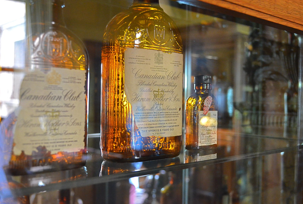 Canadian Club Bottles