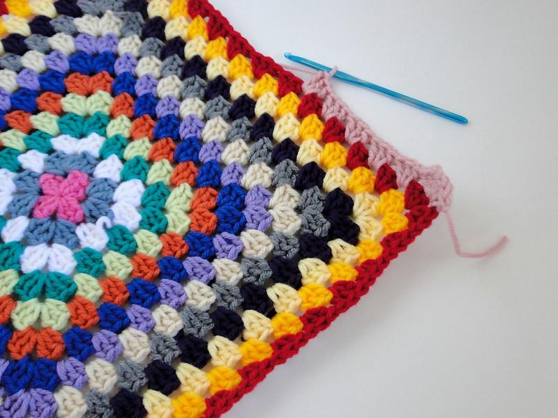stash busting granny blanket