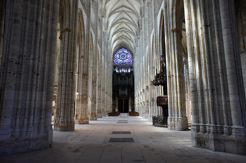 Rouen, Church of St. Ouen, interior