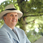 Alexander McCall Smith photoshoot |