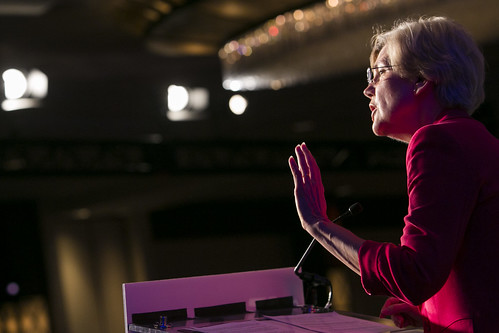 Sen. Elizabeth Warren from Massachusetts.
