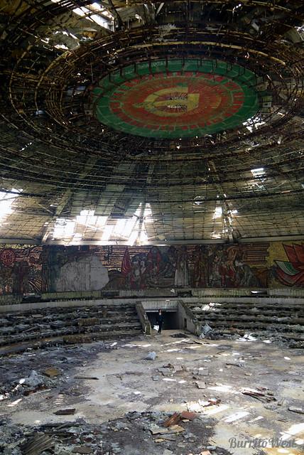 Bulgarian Soviet ruins