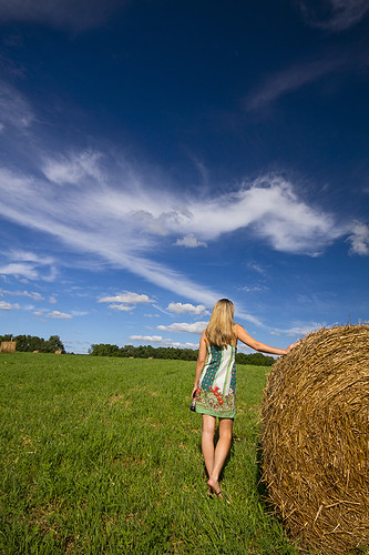 summer woman usa ny green love beer canon fun perfect peace weekend farm country farming peaceful auburn celebration growth barefoot wife fields upstatenewyork stace perfection haybales countrylife pristine thesimplelife 2013 haywheels womaninsundress womanwithhaybales