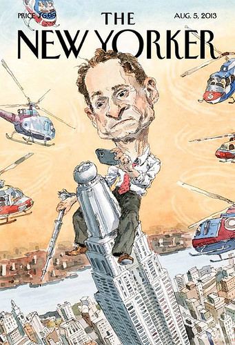 Weiner's New Yorker cover