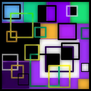 Top Squares Icon Chromatic evo