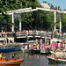 De Magere Brug - Canal Parade - Amsterdam by Edwin v Tilburg busy create 500px not leaving here