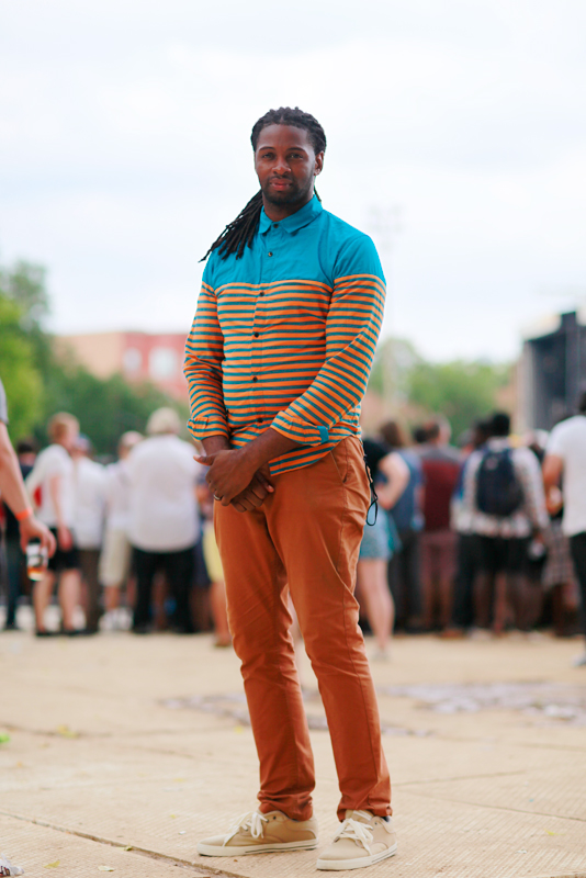 david_solange Chicago, men, Pitchfork Music Festival, Quick Shots, street fashion, street style, Union Park