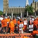 Andy Worthington at Free Shaker Aamer protest