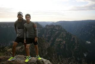 Barrancas del Cobre Nike Free Flyknit - Jesús Ayala y Riwan Silva