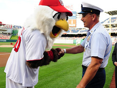 MCPOCG Leavitt attends CG Day Washington Nationals game - 5
