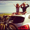 Cousins #beach camping #pei #family