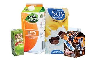 paper cartons, recycle, recycling