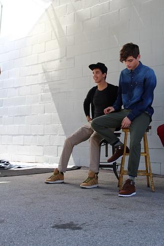 Adidas Neo Jessey Stevens Maxwell Runko fall campaign shoot Los Angeles lisforlois