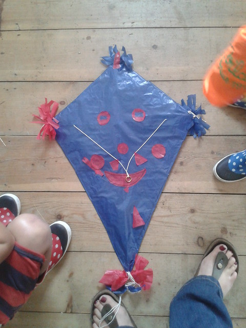 homemade kite