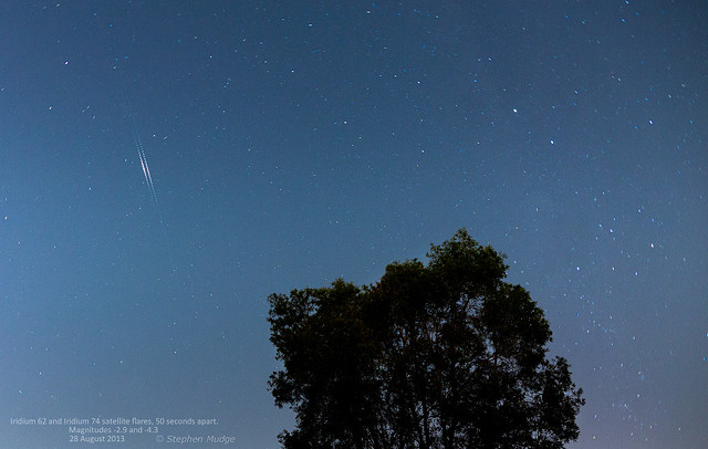 Double Iridium flare 28Aug13 small