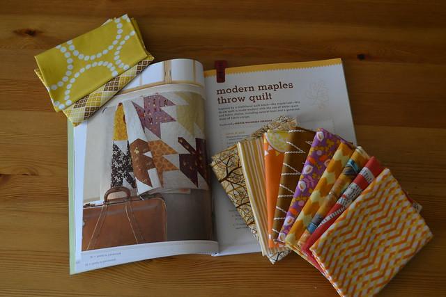 Modern Maples Quilt Planning