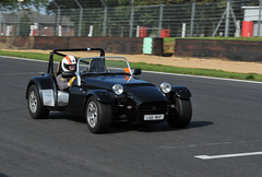 race car(1.0), automobile(1.0), lotus seven(1.0), vehicle(1.0), automotive design(1.0), caterham 7 csr(1.0), caterham 7(1.0), antique car(1.0), vintage car(1.0), land vehicle(1.0), convertible(1.0), sports car(1.0),
