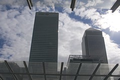 HSBC Tower and Canary Wharf from Poplar