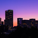 LA Downtown Sunset by dawvon