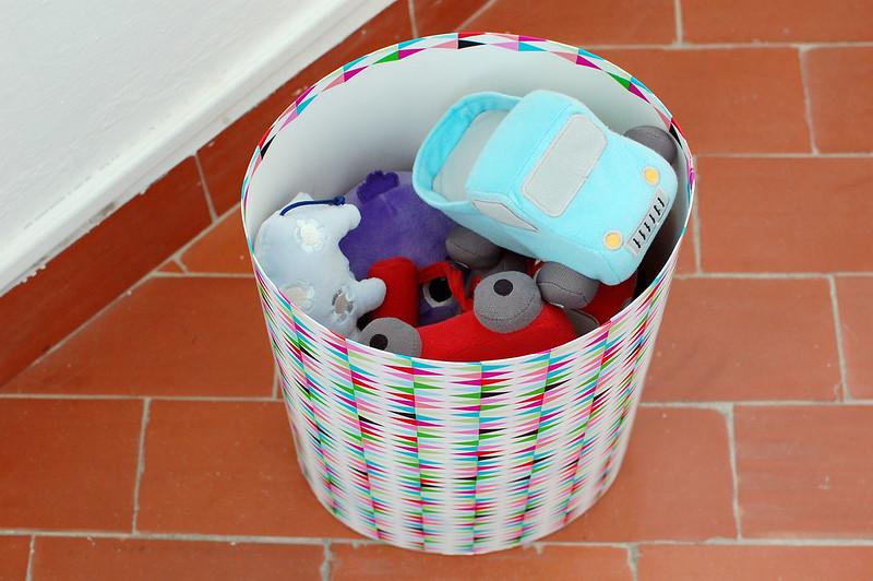 cesta para juguetes