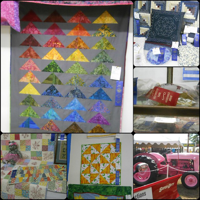 2013 Deerfield Fair collage