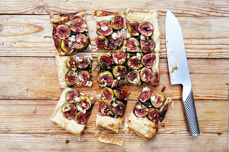 Fig and Blue Cheese Tart Recipe
