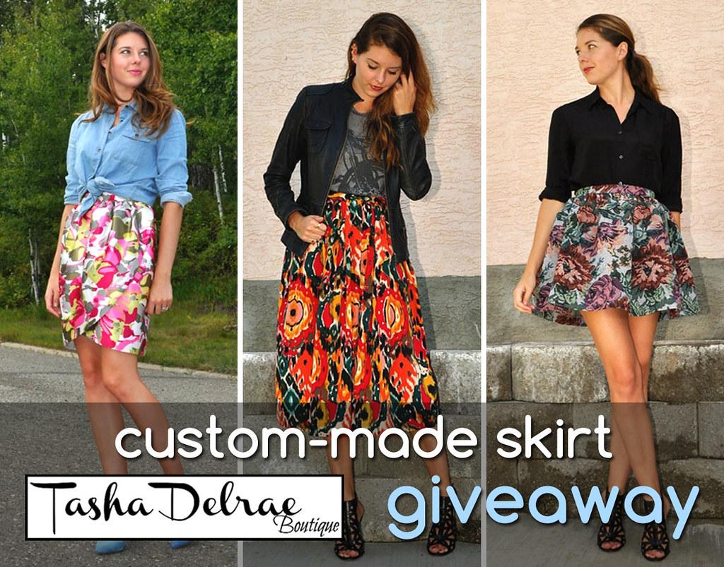 2013 October - Tasha Delrae custom made skirt
