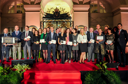 Soirée Best of Wine Tourism 2014