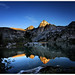 Painted Lady Alpenglow - 2013 South Lake to Onion Valley JMT Hike by Bruce Lemons