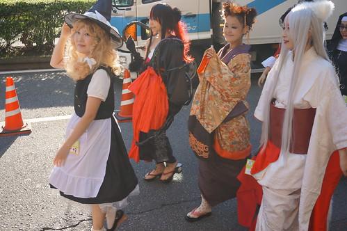 Kawasaki Halloween Parade 2013 08