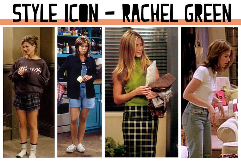 Style Icon: Rachel Green from Friends